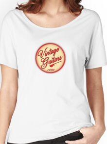vintage guitars 1960 Women's Relaxed Fit T-Shirt