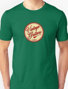 vintage guitars 1960 T-Shirt