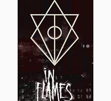 In Flames Glitch Unisex T-Shirt