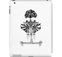 Black and white Pen pattern drawing1 iPad Case/Skin