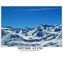 swiss alps Photographic Print