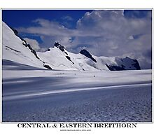 central & eastern breithorn Photographic Print