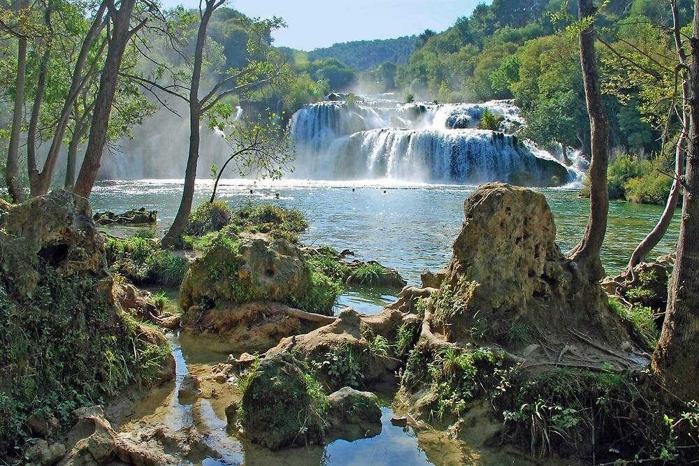 Krka national park - Croatia by Arie Koene
