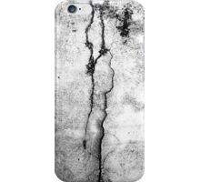 Cracked Dirty Stone Wall #2 iPhone Case/Skin