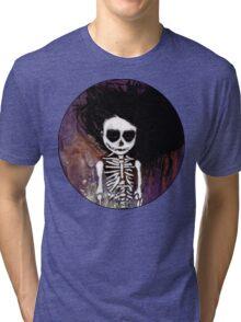 骸骨 壱 Tri-blend T-Shirt
