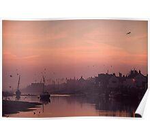 November dawn in Norfolk Poster