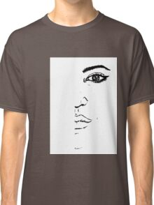 Black and white Pen pattern drawing3 Classic T-Shirt