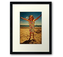 Jumping Framed Print