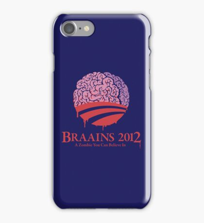 Braains 2012 iPhone Case/Skin