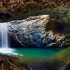 Panorama - Natural Bridge by Maxwell Campbell