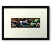 Panorama - Natural Bridge Framed Print