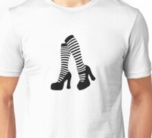 Stripy socks Unisex T-Shirt
