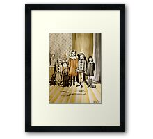 Friends Of Little Johnny  Framed Print