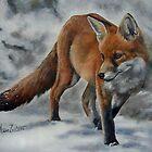 Walking In A Winter Wonderland by Anne Zoutsos