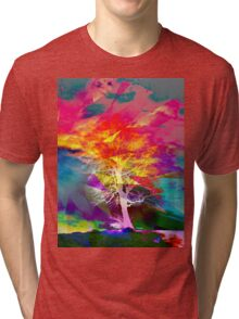 One Tree Thrice - DOS Tri-blend T-Shirt