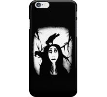 Her eyes so innocent... on hallowed ground. iPhone Case/Skin
