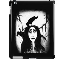 Her eyes so innocent... on hallowed ground. iPad Case/Skin