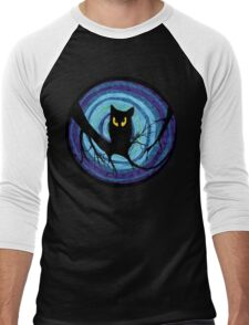 time for child stories: the EVIL OWL Men's Baseball ¾ T-Shirt