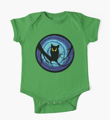 time for child stories: the EVIL OWL One Piece - Short Sleeve
