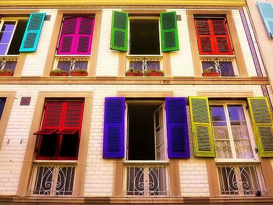 Colourful Windows by EvaMarIza