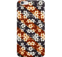 Diagonal flowers iPhone case iPhone Case/Skin