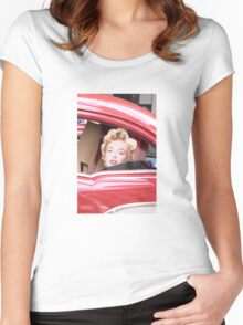 Marilyn Monroe iPhone Case Women's Fitted Scoop T-Shirt
