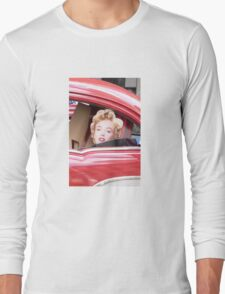 Marilyn Monroe iPhone Case Long Sleeve T-Shirt