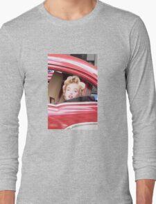 Marilyn Monroe iPhone Case Long Sleeve T-Shirt