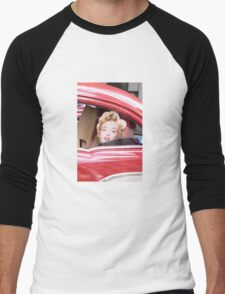 Marilyn Monroe iPhone Case Men's Baseball ¾ T-Shirt