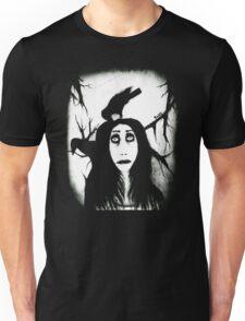 Her eyes so innocent... on hallowed ground. Unisex T-Shirt