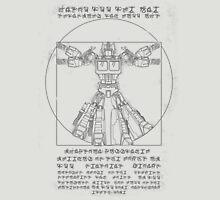 Vitruvian Prime Unisex T-Shirt