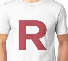 Team Rocket inspired 'R' Unisex T-Shirt