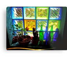 Colourful Light Metal Print