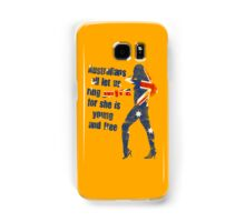 Australians all let us ring joyce! Samsung Galaxy Case/Skin