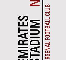 Emirates Stadium Sign by mininsomniac