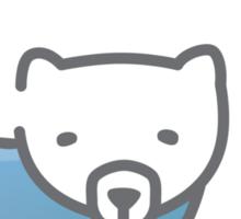 Polar Heart Sticker
