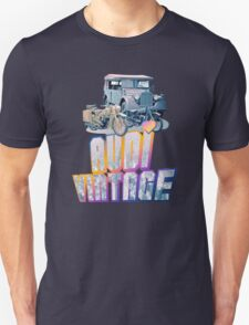 Vintage Audi car and Motorcycles T-Shirt