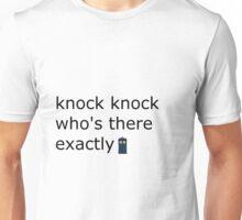 doctor who joke Unisex T-Shirt
