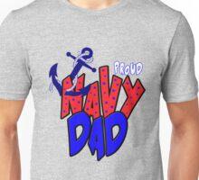 Proud Navy Dad Unisex T-Shirt