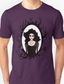 I keep my dark thoughts deep inside. Unisex T-Shirt