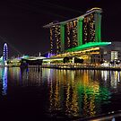 The Sands Marina Bay. Singapore. by Ralph de Zilva