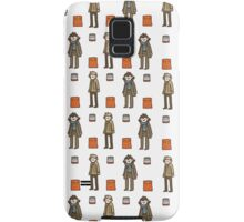 Sherlock Doodle iPhone case Samsung Galaxy Case/Skin