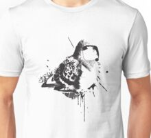 Birdy Bird Tv Screen Face Unisex T-Shirt