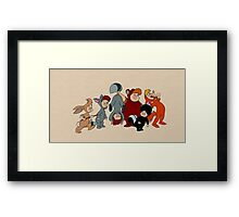 The Lost Boys - Peter Pan Framed Print