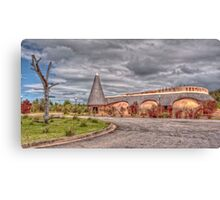 Khoisan Village Canvas Print