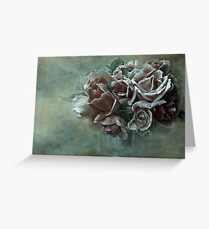 """""""Dreamily Roses ..."""" Greeting Card"""