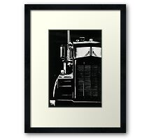 One Semi Framed Print