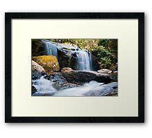 Waterfall at Zomba Plateau, Malawi Framed Print