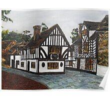 Thomas Oken House, Warwick, England Poster