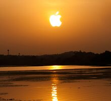 Serene Sunset by vibzart